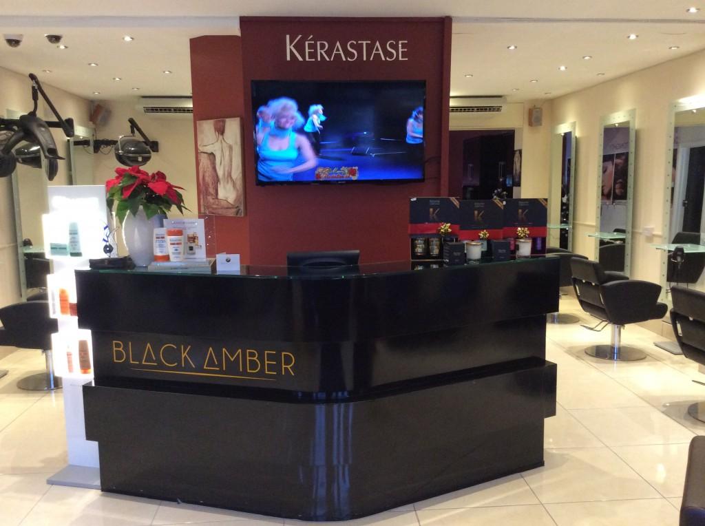 BLACK AMBER hair salon Templeogue